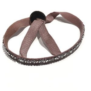 Les Interchangables bracelet & Swarovski crystals